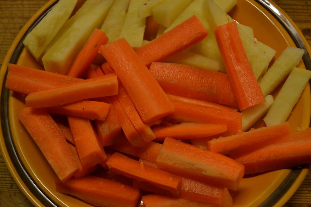 Rå grønnsaker